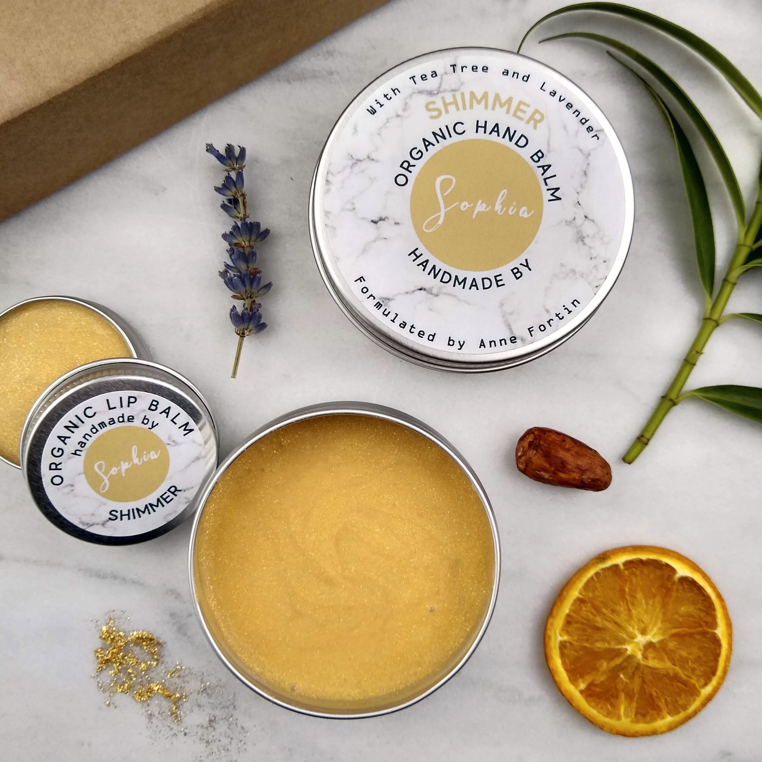 Personalised Finished Balm with Tea Tree and Lavender